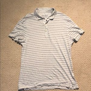 Banana republic linen golf shirt